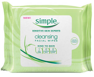 simple skin care wipes