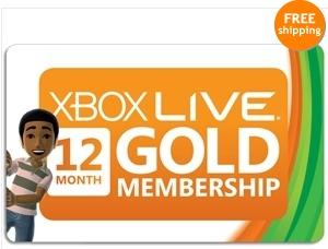 xbox gold live membership