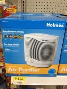 Holmes Air Purifier e1333375527737 225x300 Walmart: Holmes Air Purifier only $4.94
