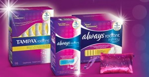 Tampax radiant sample 300x155 Free Tampax Radiant Sample
