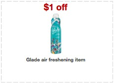 Target glade printable coupons