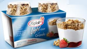 Yoplait light with granola