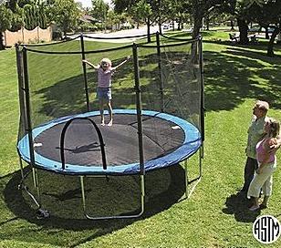 bravo trampoline