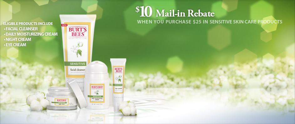 burt's bees mail in rebate