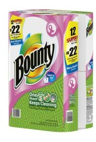home depot bounty paper towels