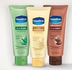 vaseline freebie