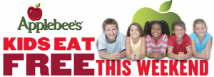 applebees Applebees: Kids Eat Free Memorial Day Weekend