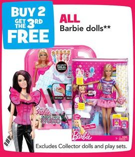 barbie fashionista tru
