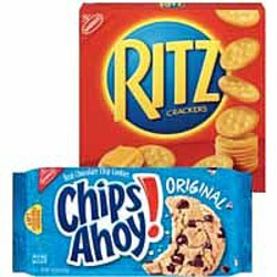 picture relating to Chips Ahoy Coupons Printable identified as Walmart: $1 off Chips Ahoy and Ritz Cracker Coupon Well-known