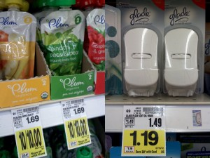 collage2 300x225 Kroger: FREE Glade Plugin Scented Oil Warmers & Plum Organics