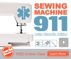 craftsy free sewing machine 911 class Craftsy: FREE Sewing Machine 911 Class