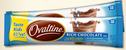 free sample ovaltine