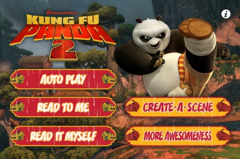 kung fu panda storybook