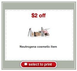 neutrogena Target coupon