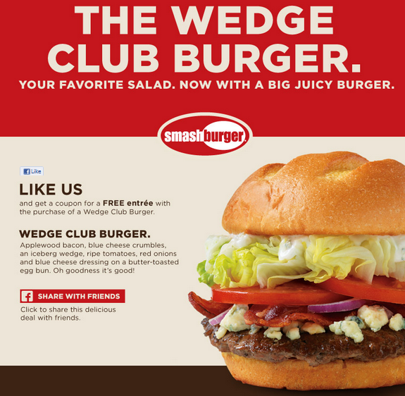 wedge burger