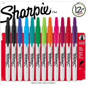 Amazon: Retractable Sharpie Permanent Markers (12 count) – Only $13.64!