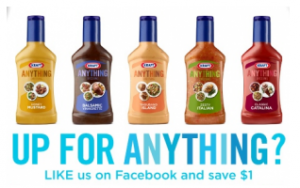 kraft New Kraft Printable Coupon = Cheap Dressing