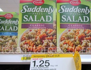 suddenly salad deal 300x230 Target: Betty Crocker Suddenly Salad Just $1.00 After Coupon