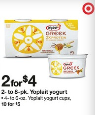 yoplait yogurt Target