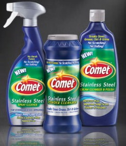 comet cleansers 260x300 Target: Free Comet Stainless Steel Cleaner after Printable Coupons!