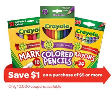 photograph regarding Crayola Coupons Printable called Crayola Discount coupons Printable