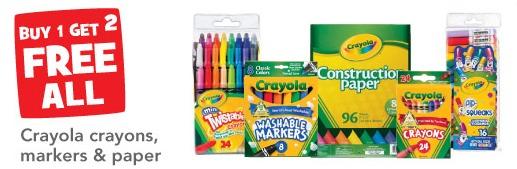 crayola sale Toys R Us Buy 1 Get 2 Free Crayola Sale!