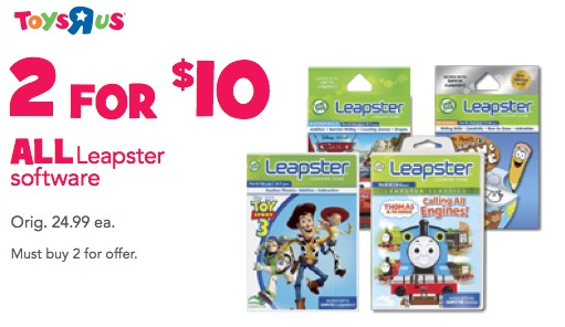 leapster sale
