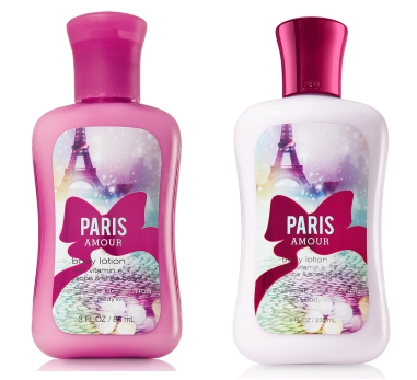 paris body lotion