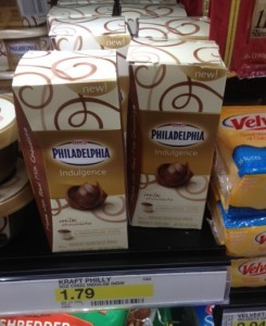 phila spread Kraft Philadelphia Indulgence Spread Deals at Target and Walmart