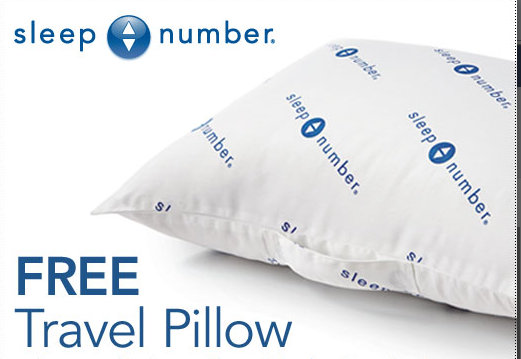 sleep number freebie Free Travel Size Sleep Number Pillow Coupon