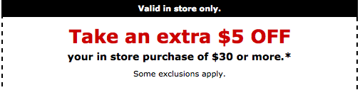staples printable coupons Staples Printable Coupons for $5 off $30 Purchase!