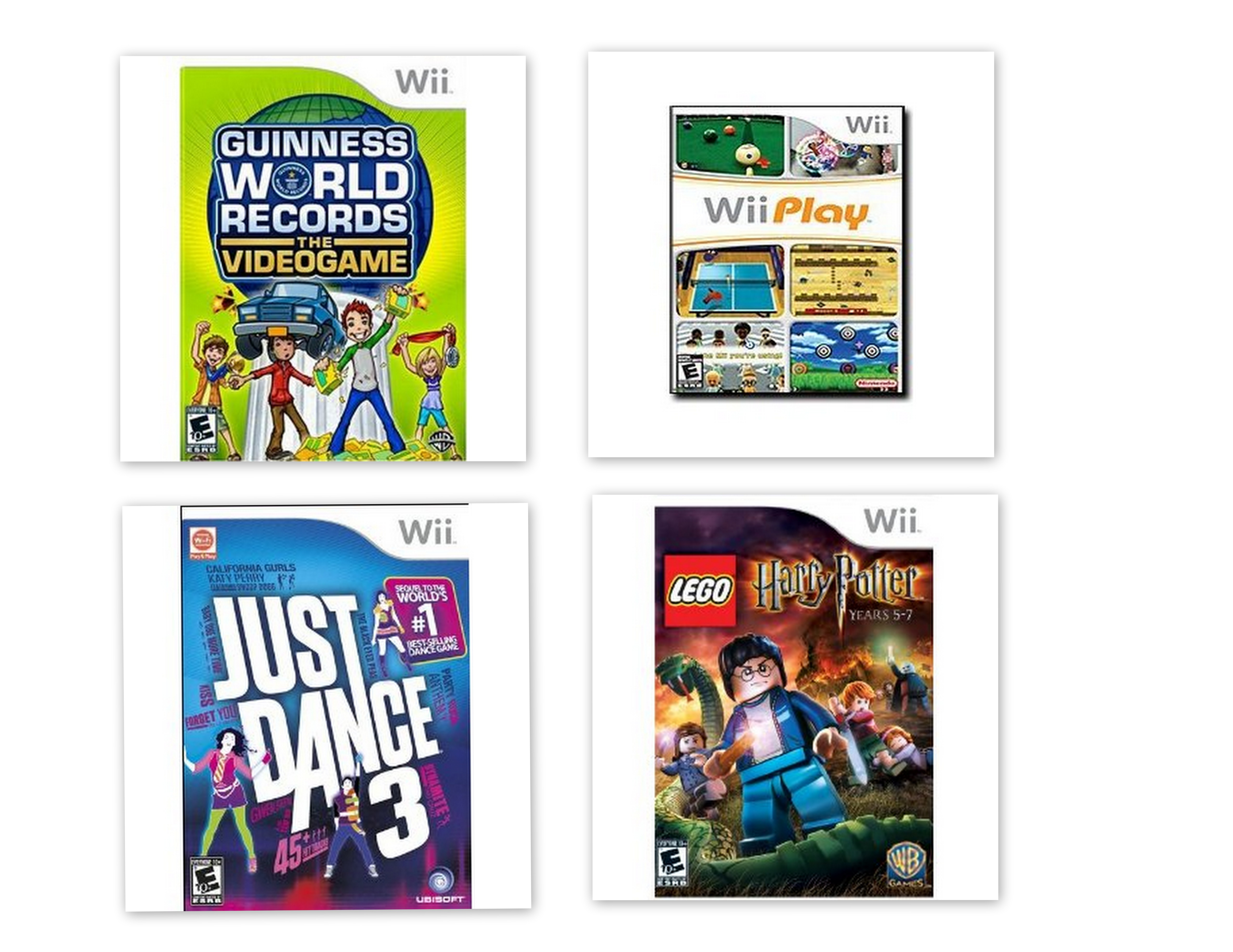 wii games coll