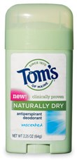 Free Toms of Main Naturally Dry Deodorant *Expired Now* Free Toms of Maine Deodorant Sample