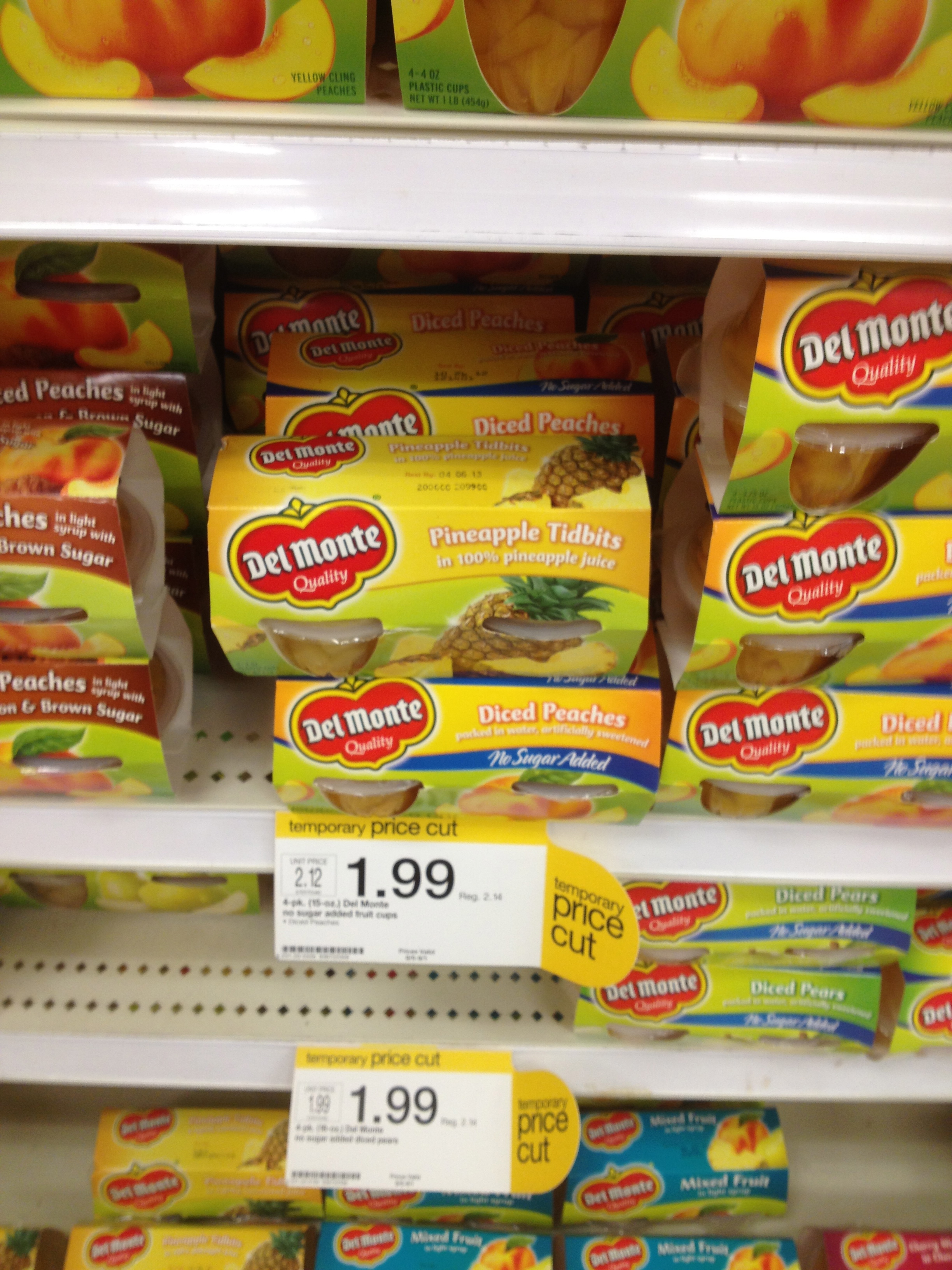 picture relating to Del Monte Printable Coupons referred to as Del Monte Fruit Cups Printable Discount coupons Preferred Truly feel With Monetary