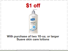 Screen shot 2012 08 14 at 8.43.21 AM Target: Free Suave Lotion