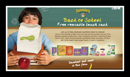 annie FREE Annies Homegrown Reusable Lunch Sack, Target Scenario Plus New Coupon!