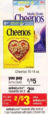 cheerios Cheerios Cereal Just $1 at CVS Starting 8/19 (Print and Save)