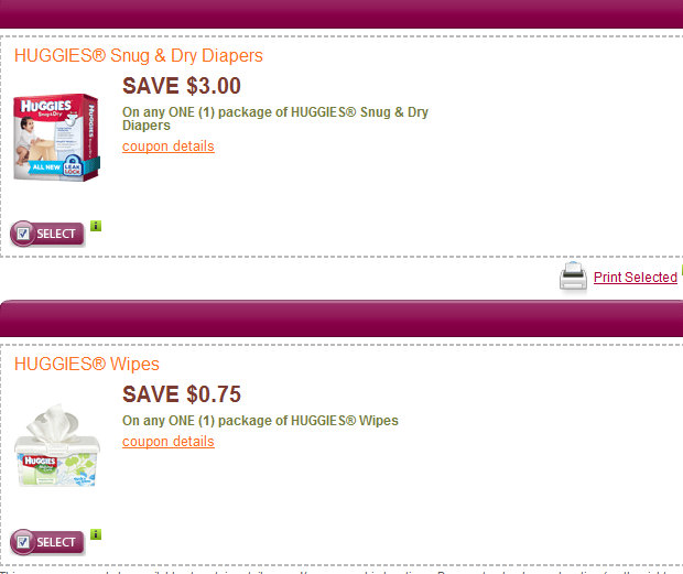 huggies coupons *Expired* More Huggies Deal Scenarios with New Coupons!