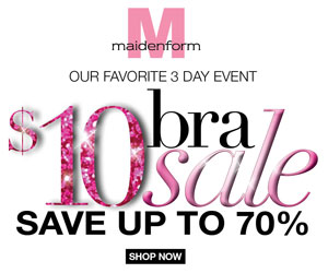 maidenform Maidenform $10 Bras Sale + Extra 10% Off Code