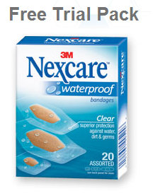 nexcare FREE Trial Pack of Nexcare Bandages   Limited Quantity