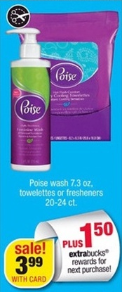 poise cvs ad Poise Products for Only 49¢ At CVS