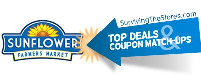 sunflower farmers market coupon match ups deals 82912 9512 Sunflower Farmers Market Coupon Match ups & Deals 8/29/12 – 9/5/12