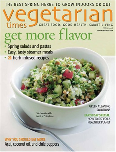 vegetarian times Vegetarian Times Magazine Subscription $5.49 (61¢ per issue)