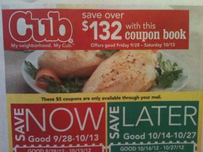 cub foods coupon book 928 101312 Cub Foods Coupon Book 9/28 – 10/13/12