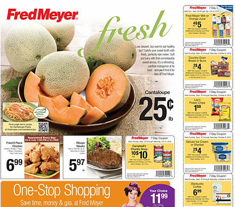 fred meyer deals 930 1006 cheap campbells chunky soup milk lays chips peanut butter cream cheese cottonelle cantaloupe and more Fred Meyer Deals 9/30 10/06 {Cheap Campbell's Chunky Soup, Milk, Lays Chips, Peanut Butter, Cream Cheese, Cottonelle, Cantaloupe, and more}