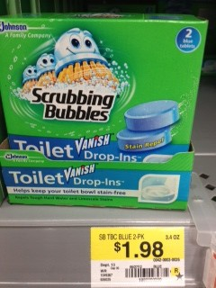 scrubbing bubbles at walmart