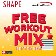 FREE Workout Mix Song Downloads!