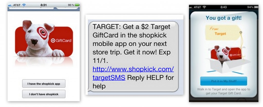 shopkick 1024x419 FREE $2 Target Gift Card From Shopkick App