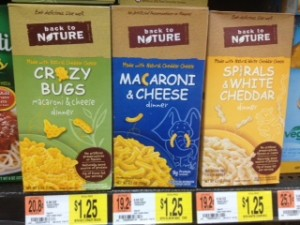 Walmart & Lowes Foods: Back to Nature Mac & Cheese $.50