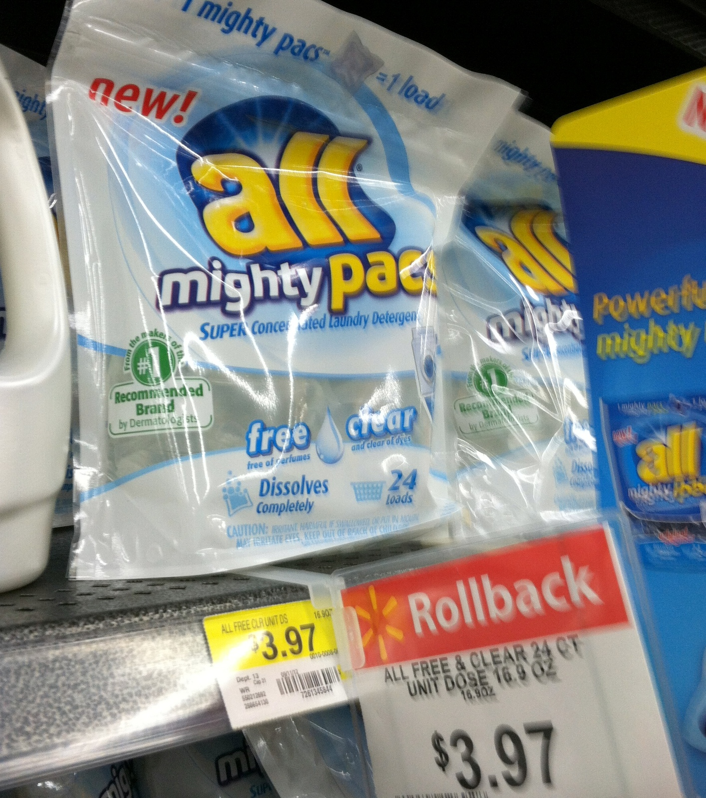 24load New All Mighty Pacs Printable Coupons + Target and Walmart Deals